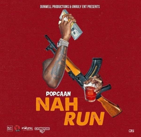 Popcaan – Nah Run Prod by DunWell Productions