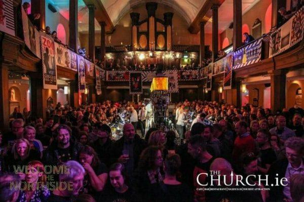 crowded bar built inside a former church 862328523