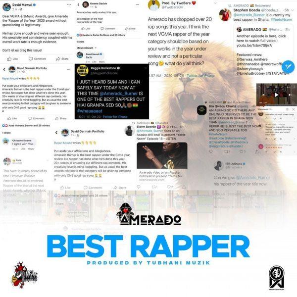 Amerado Best Rapper Prod. By Tubhanimuzik