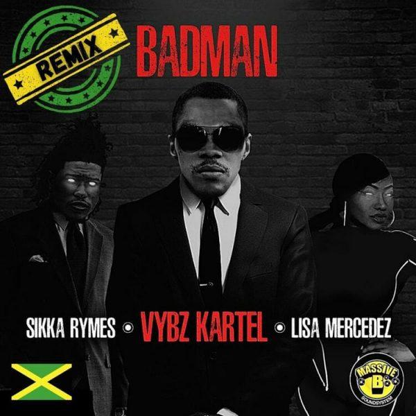 Vybz Kartel Badman Remix ft. Massive B