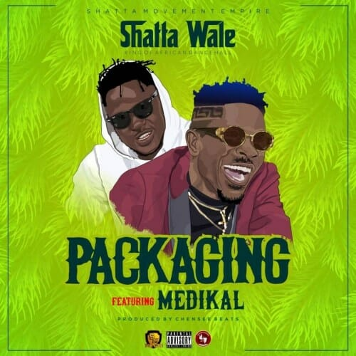 Shatta Wale – Packaging