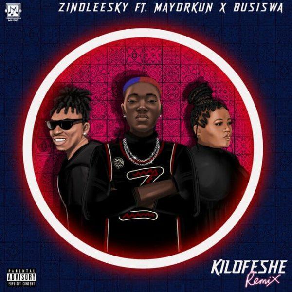 Zinoleesky ft. Mayorkun Busiswa– Kilofeshe Remix