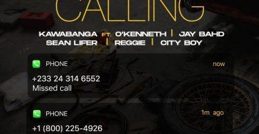 Kawabanga Calling ft OKenneth Jay Bahd Sean Lifer Reggie City Boy mp3 image