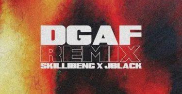Skillibeng Ft Jblack – Dgaf Remix mp3 image